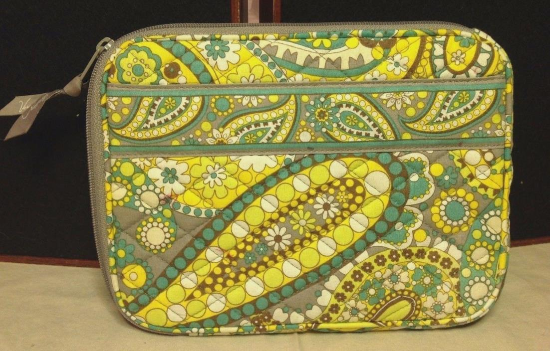 Vera Bradley E-Reader Sleeve, Case, Cover, Kindle, Nook - Lemon Parfait Retired