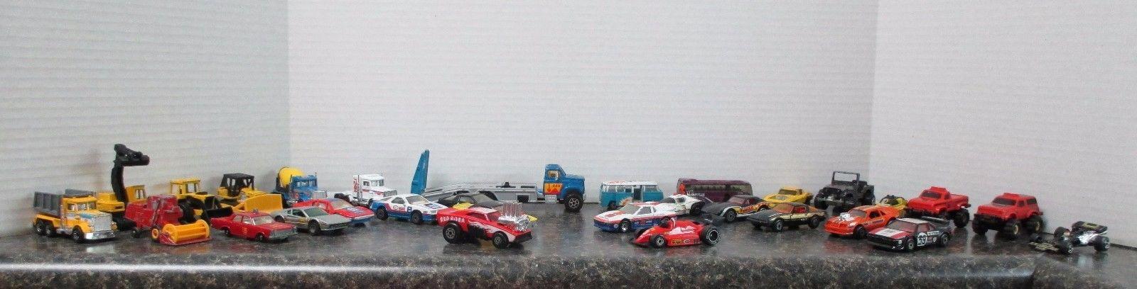 Die Cast Vehicles, Matchbox, Hot Wheels, Majorette and Zylmex, Aurora & Schaper