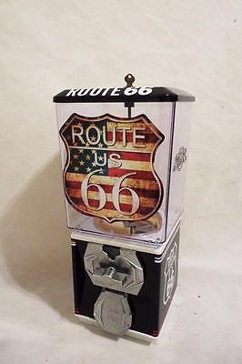 Route 66  highway Americana vintage gumball machine candy machine