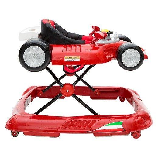 Ferrari F1 Baby Walker - Red Combi