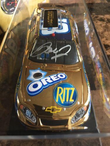 Dale Earnhardt Jr 1/24 Scale 24kt Gold Diecast Autographed