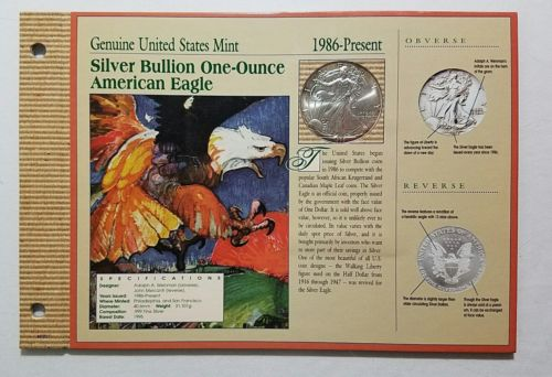 1999 American Eagle Silver Bullion 1 oz. Silver Dollar Coin