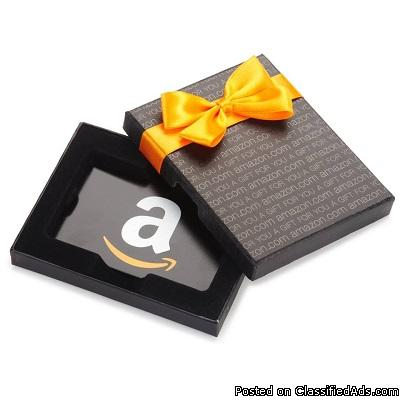 $100.00 Amazon Gift Card 'OUR TREAT' Just for Participating!!