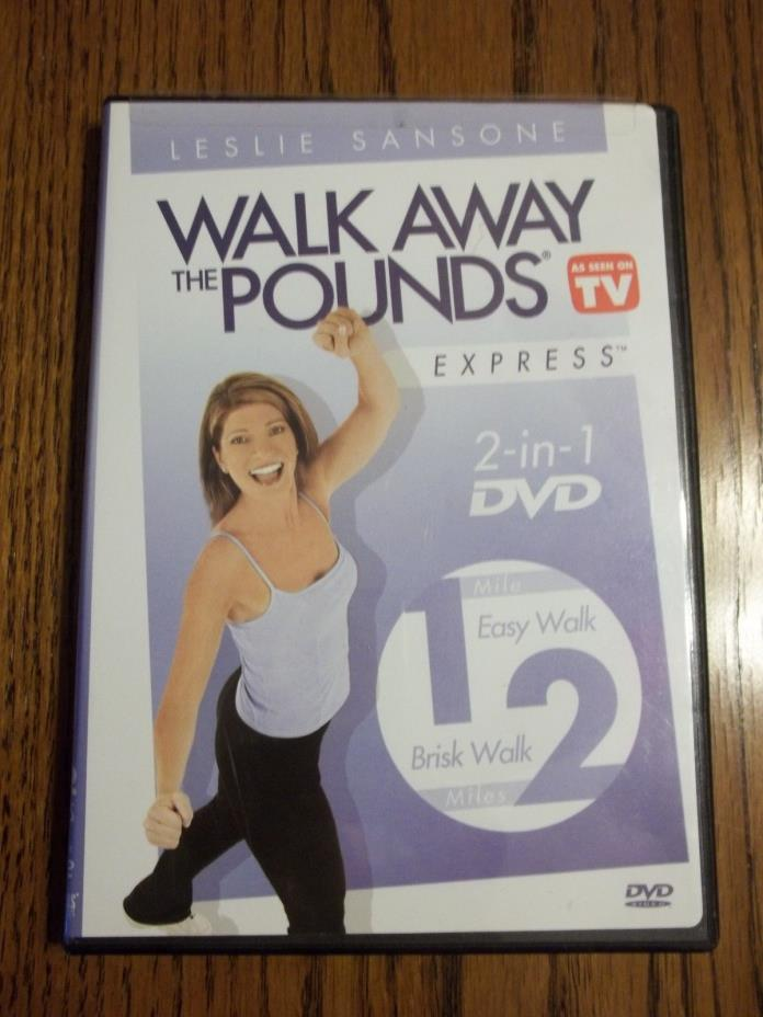 Walk Away Pounds as seen on tv Leslie Samsone