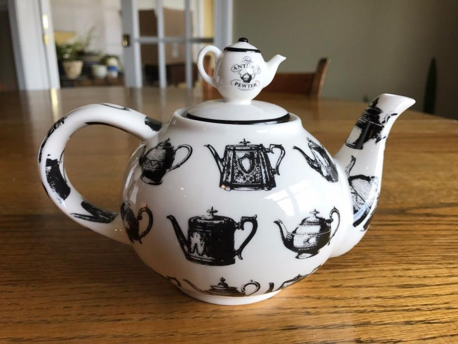Paul Cardew 2 cup Teapot – Antique Pewter 2008 – Made in England - NIB