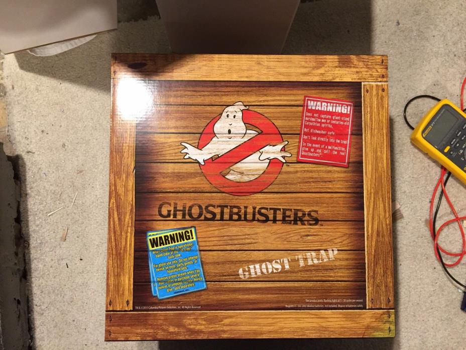 Ghostbusters Matty Collector Ghost Trap, Out of Print