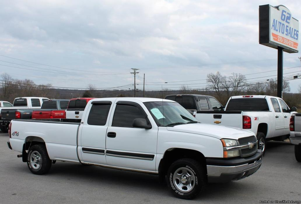 2003 Chevrolet Silverado 1500 4dr Extended Cab 4x4 in Floor Extra Clean Local...