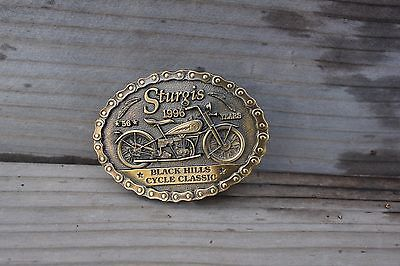 BRAND NEW! 1996 Sturgis Black Hills Cycle Classic  Belt Buckle