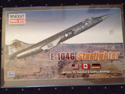 Minicraft F-104G Starfighter  1/144 scale Sealed