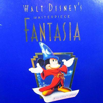 Walt Disney's Masterpiece FANTASIA VHS + CD Movie Commemorative Limited Edition