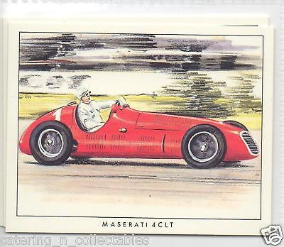 #14 Maserati 4CLT grand prix early years trade card