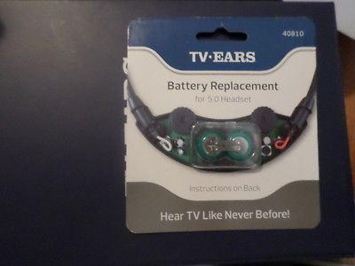 TV Ears Headset Battery 5.0, 40810