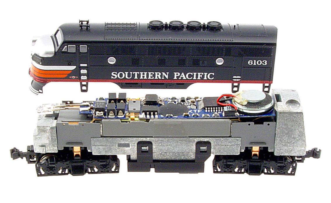 MRC 0001957 N Scale Drop In Sound Decoder for Kato F Unit