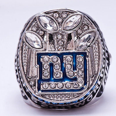 NEW YORKK GIANTS  2011 Super Bowl Ring BUY AMERICAN NOT CHINA Ships TODAY