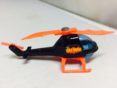 Vintage Batman Corgi Juniors Batcopter Toy DC 1976