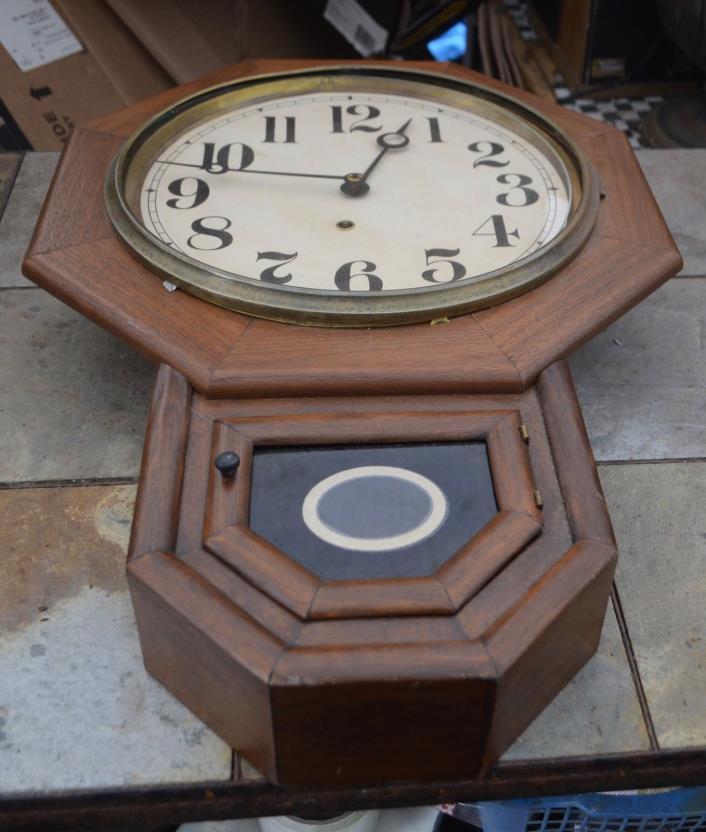 Waterbury Clock Co. Wall Clock 1910