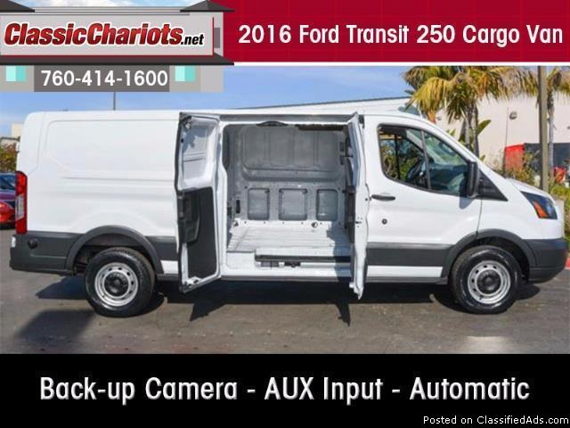 Used 2016 Ford Transit 250 Cargo Van for Sale in San Diego - Stock # 14817R