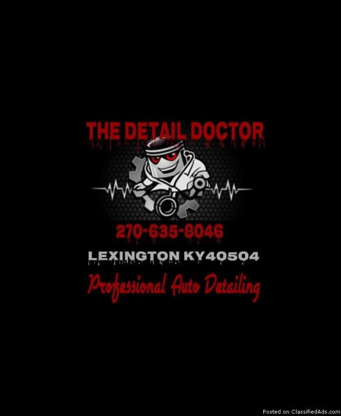The Detail Doctor. Auto Detailing