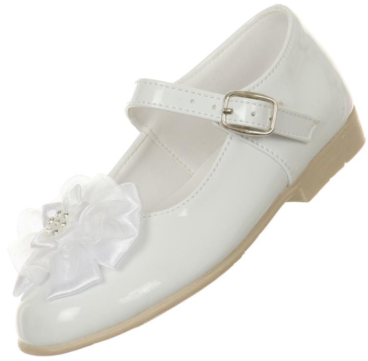 New White Baptism Shoes Christening Baby Toddler Communion Wedding Party Church