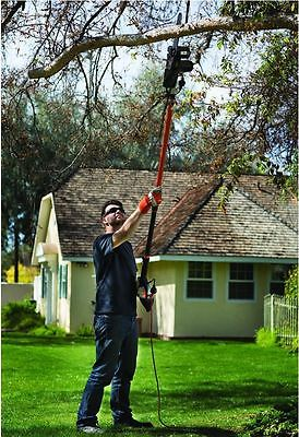 Remington Pole Saw Tree Trimmer Best Electric Chainsaw Pruner Chain 15' Branch
