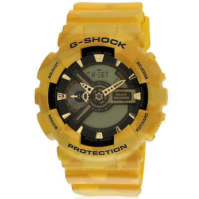 G Shock Special Edition Military Yellow Camo Men's Watch