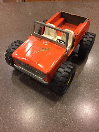1970's Nylint Pressed Steel - FORD Bronco- Bobcat dune buggy