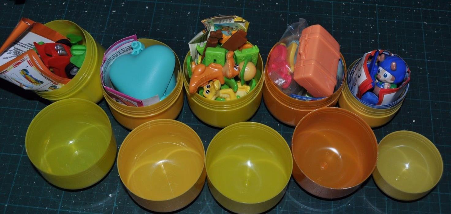 KINDER Surprise Maxi toys x5, FT-3-113, TR-3-106, TR-3-108, TR-3-109, TR-25N-4
