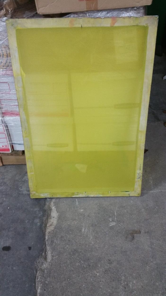 USED Aluminum Silk Screen Printing Frame 36
