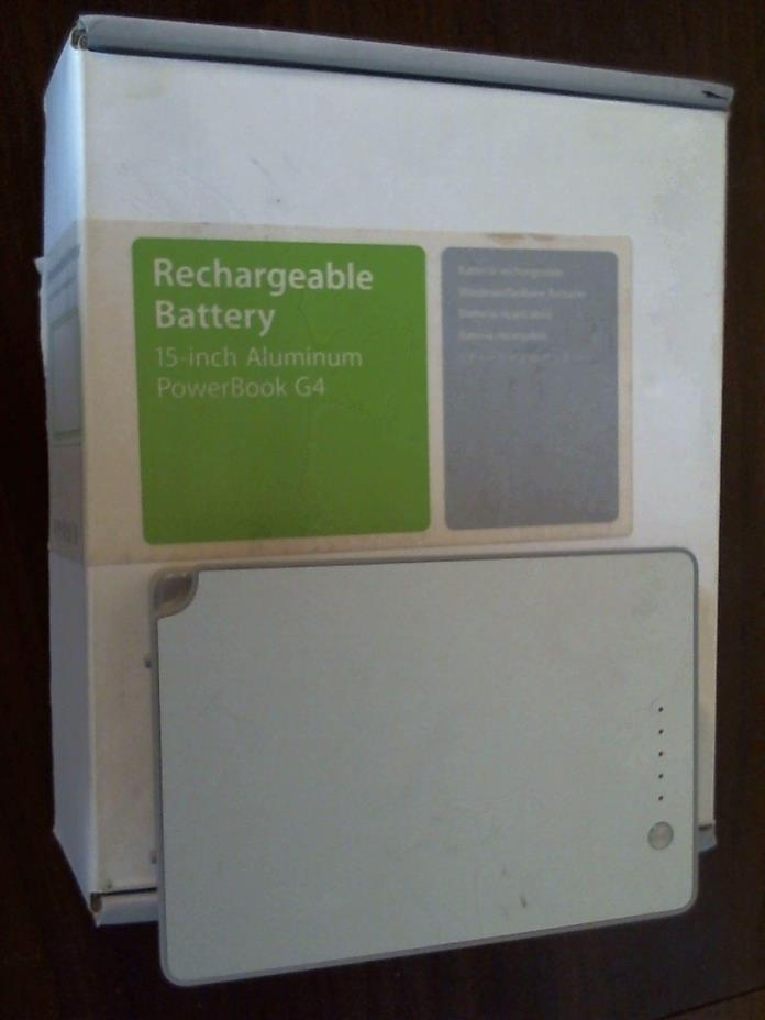 Rechargeable Battery A1078 For Apple PowerBook G4 15