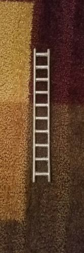cast iron horse drawn fire wagon ladder