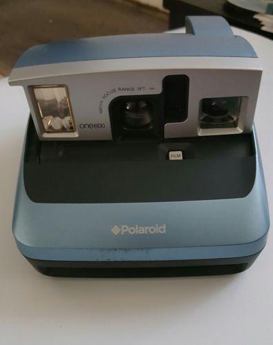 Polaroid One600 Silver Instant Film Camera