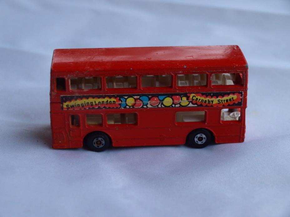 Lesney Matchbox Superfast No 17 The Londoner