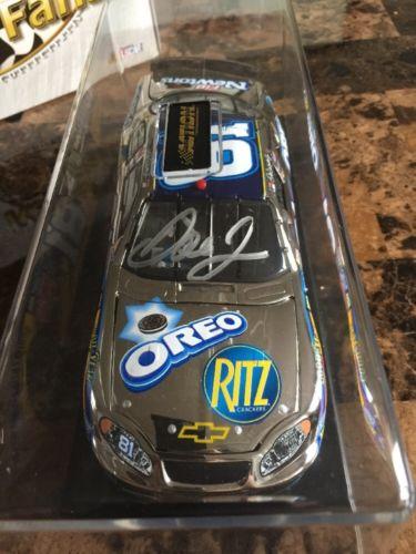 Dale Earnhardt Jr 1/24 Platinum Diecast Autographed