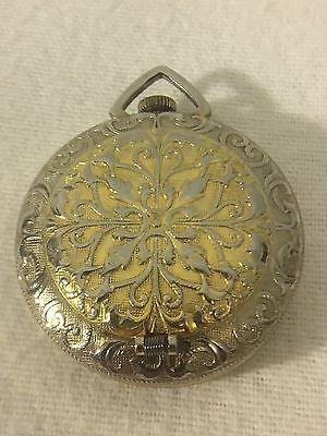 Vintage Webster Watch Co Parisette Antimagnetic Swiss Made Pocket Watch