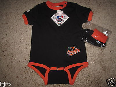 Baltimore Orioles 2017 MLB One Piece Jersey Set Baby Toddler 24M 24 months NEW