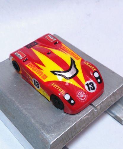 Velochamp2  lexan ho slot car body for VIPER 1/64  custom painted drag