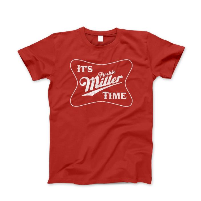 Indiana Basketball T-Shirt Archie MILLER TIME Tee *NEW
