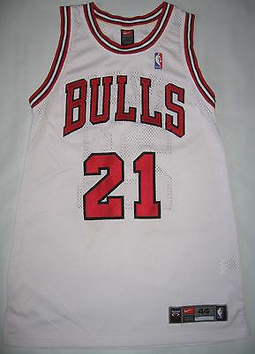 Rare Macus Fizer Chicago Bulls Nike Jersey size 44