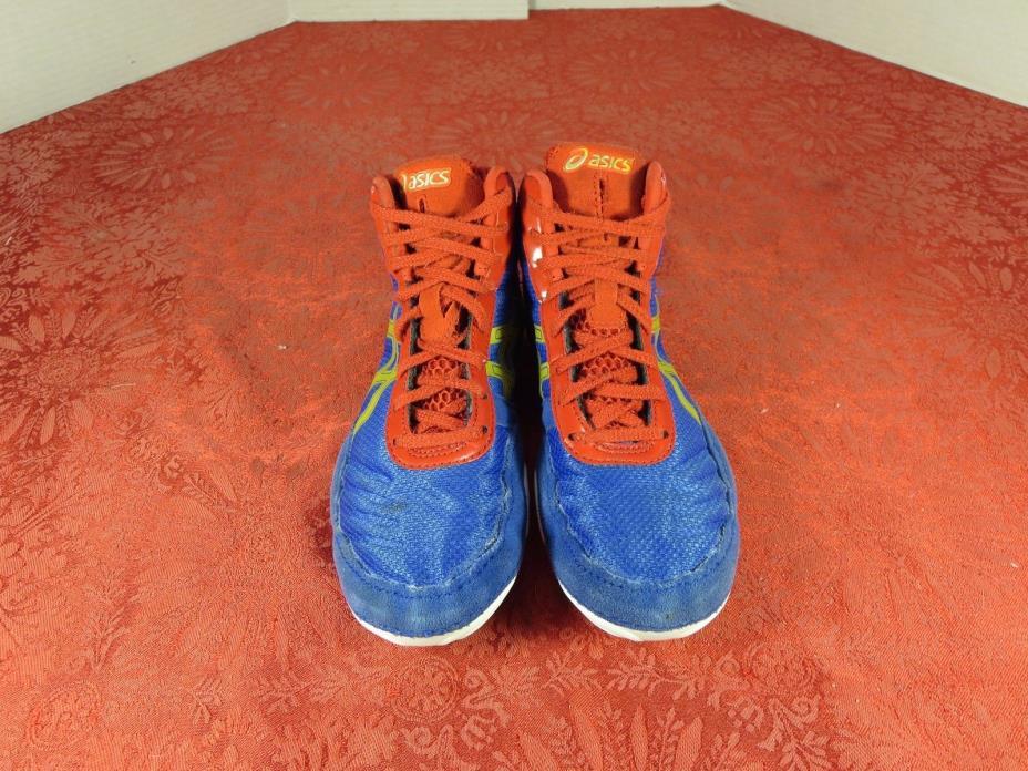 Asics  C544N JB Elite V2.0 GS Wrestling Mat Blue Shoes Youth US 1.5 Euro 31.5