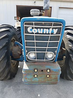1971 Ford County 1164 Tractor 6cy Diesel 4x4 3k Hours 100% Original 3rd Owner