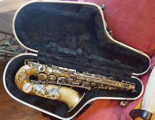 1968 Selmer Mark Vi Alto Saxophone