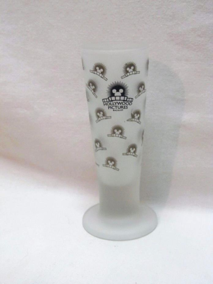 Mickey Mouse Shot Glass Hollywood Pictures California Frosted Tall Shooter