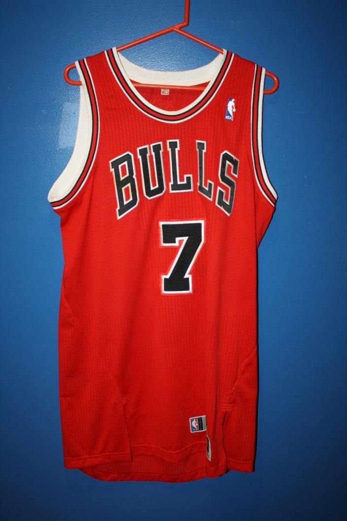 NBA GAME USED AUTHENTIC CHICAGO BULLS JANNERO PARGO JERSEY BASKETBALL