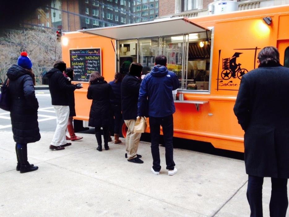 Custom Built Food Truck 2014