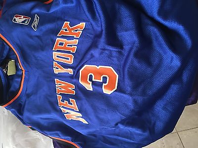 New York Knicks Marbury #3 NBA  jersey youth xl