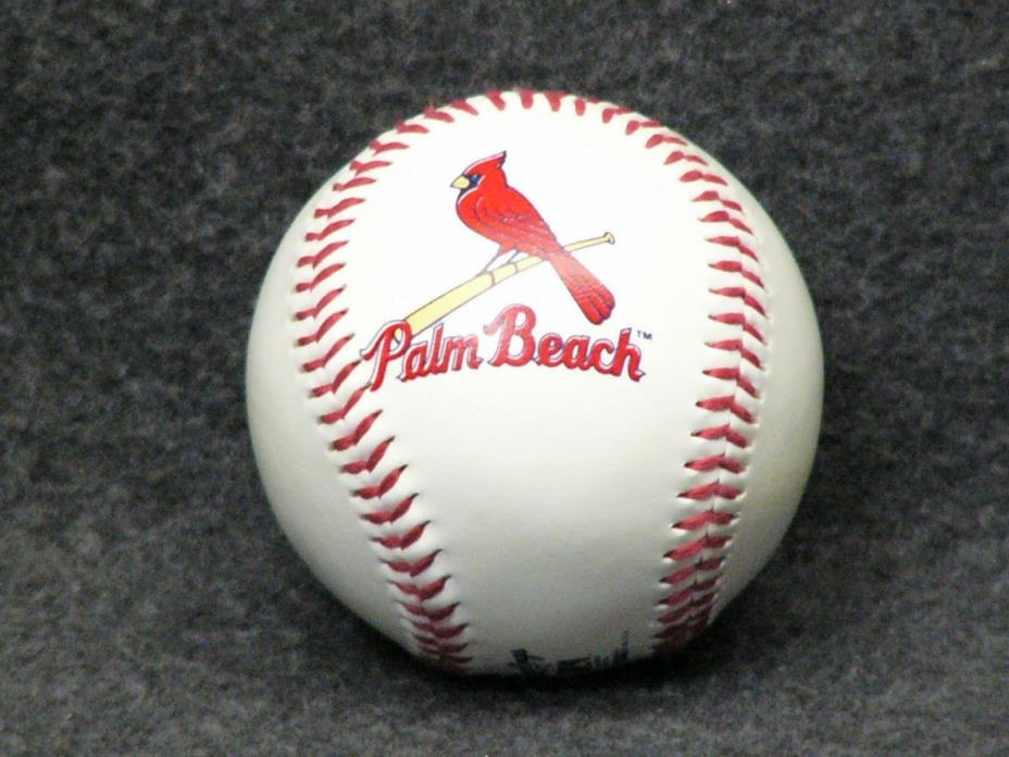 Palm Beach Cardinals Rawlings Baseball - Minor League - EUC