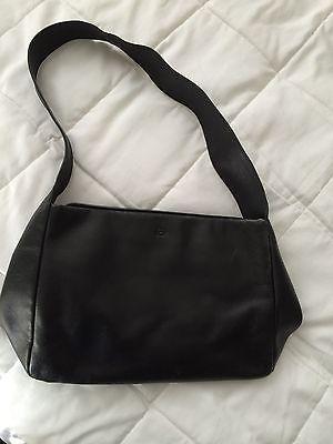 THE SAK Handbag-Baguette-Purse BLACK LEATHER 9