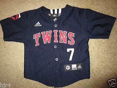 Joe Mauer #7 Minnesota Twins MLB Adidas Jersey Baby Toddler 24m Cute!