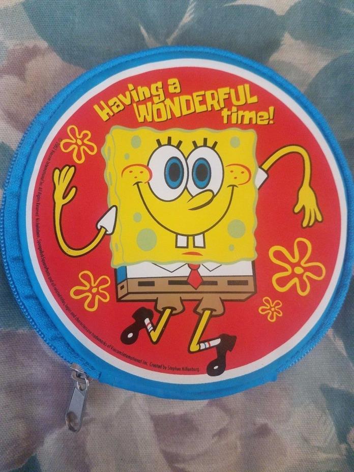 Spongebob Squarepants Kids CD DVD Case Holder 2002