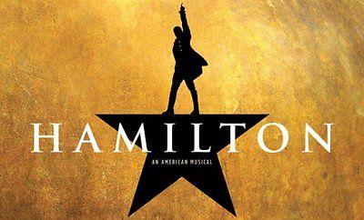 2 Hamilton San Francisco Tickets 04/26/17, Together (Balcony AA)